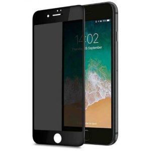 Защитное стекло CASE Full Glue Privacy (Антишпион) для Apple iPhone 7 plus / 8 plus (черный)