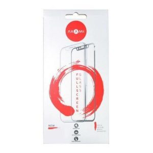 Защитное стекло Fullscreen full glue Akami для Apple iPhone 12 Mini Черный (17719)