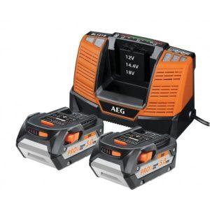 Аккумулятор с зарядным устройством AEG Powertools SET LL1850BL (4932464019)