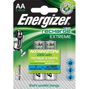 Аккумуляторы ENERGIZER Extreme AA 2300mAh 2 шт.
