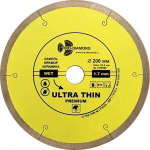 Алмазный диск Trio-diamond UTW505 200*25
