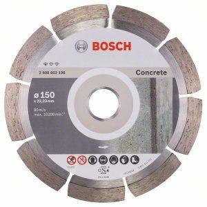 Алмазный отрезной диск Bosch Standard for Concrete прямой 2.608.602.198