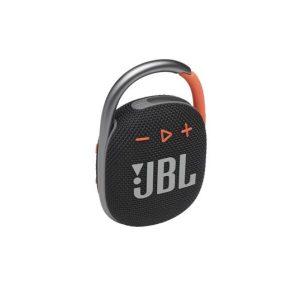 Беспроводная колонка JBL Clip 4 (черный/оранжевый)