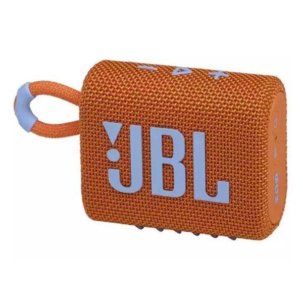 Беспроводная колонка JBL Go 3 (оранжевый)