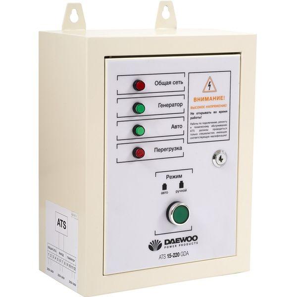 Блок автоматики для генератора Daewoo Power ATS 15-220GDA