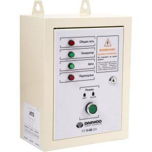 Блок автоматики для генератора Daewoo Power ATS 15-380GDA