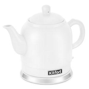 Чайник Kitfort КТ-691-1 (белый)