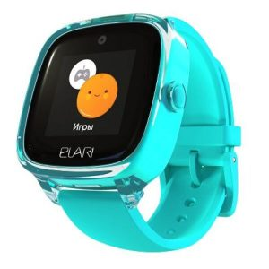 Часы-телефон ELARI KidPhone 4 Fresh (KP-F) бирюзовый