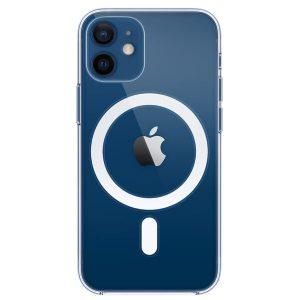 Чехол Apple MagSafe Clear Case для iPhone 12 mini (прозрачный) MHLL3ZE/A