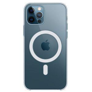 Чехол Apple MagSafe Clear Case для iPhone 12 Pro Max (прозрачный) MHLN3ZE/A