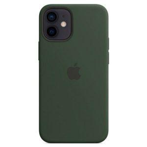 Чехол Apple MagSafe Silicone Case для iPhone 12 mini (кипрский зеленый) MHKR3ZE/A