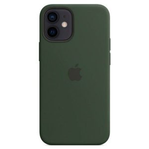 Чехол Apple MagSafe Silicone Case для iPhone 12 mini (кипрский зеленый) MHKR3ZM/A