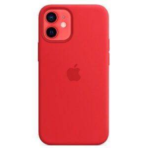 Чехол Apple MagSafe Silicone Case для iPhone 12 mini (красный) MHKW3ZE/A