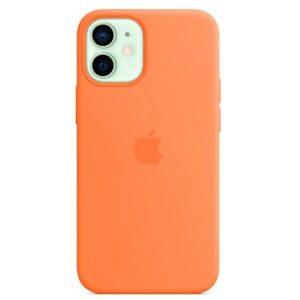 Чехол Apple MagSafe Silicone Case для iPhone 12 mini (кумкват) MHKN3ZE/A
