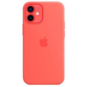 Чехол Apple MagSafe Silicone Case для iPhone 12 mini (розовый цитрус) MHKP3ZM/A
