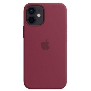 Чехол Apple MagSafe Silicone Case для iPhone 12 mini (сливовый) MHKQ3ZE/A