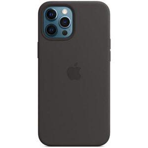 Чехол Apple MagSafe Silicone Case для iPhone 12 Pro Max (черный) MHLG3ZE/A