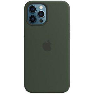 Чехол Apple MagSafe Silicone Case для iPhone 12 Pro Max (кипрский зеленый) MHLC3ZM/A