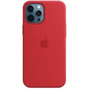 Чехол Apple MagSafe Silicone Case для iPhone 12 Pro Max (красный) MHLF3ZE/A