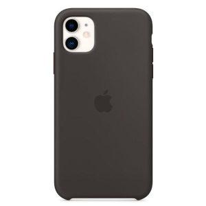 Чехол Apple Silicone Case для iPhone 11 (черный) MWVU2ZM/A