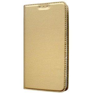 Чехол книжка Akami для Samsung Galaxy J4 Золотой (4679)