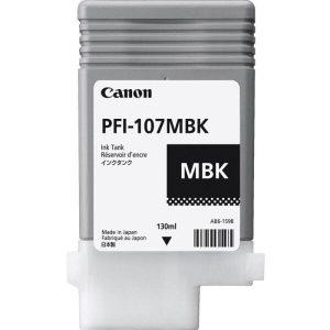 Чернильница CANON PFI 107MBK для принтера IPF 670/770/780/785 черная матовая (130мл)