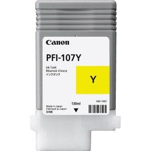 Чернильница CANON PFI 107Y для принтера IPF 670/770/780/785 желтая (130 мл)