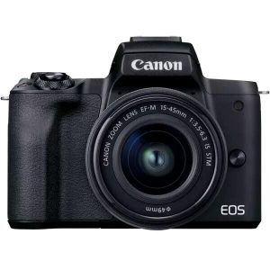 Цифровой фотоаппарат CANON EOS M50 Mark II EF-M15-45 IS STM Kit (4728C007)