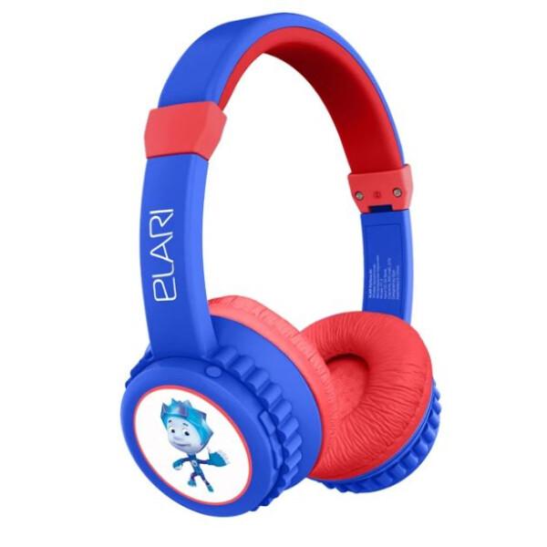 Детские складные наушники/гарнитура FixiTone Air (синий)