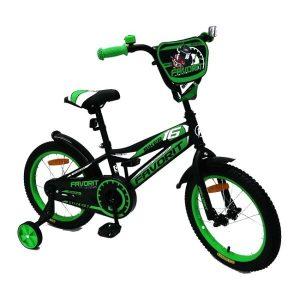 Детский велосипед Favorit Biker BIK-P16 (зеленый)