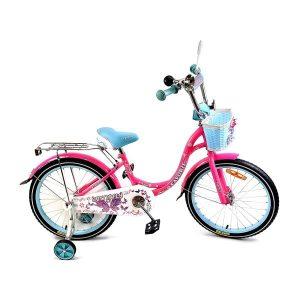 Детский велосипед Favorit Butterfly 18 (розовый/бирюзовый)