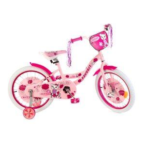 Детский велосипед Favorit Kitty 18 (розовый)