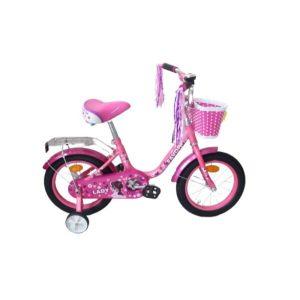 Детский велосипед Favorit Lady 14 (розовый)