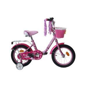 Детский велосипед Favorit Lady 14 (сиреневый)