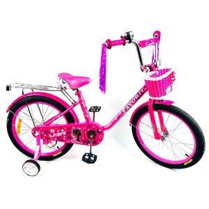 Детский велосипед Favorit Lady 16 (LAD-P16RS) (розовый)
