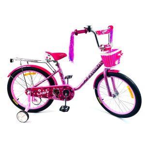Детский велосипед Favorit Lady 18 (сиреневый)