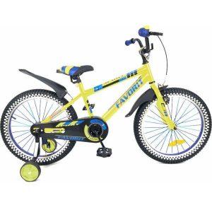 Детский велосипед Favorit Sport 20 (желтый)