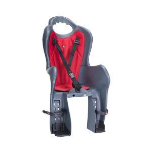 Детское велокресло H.T.P. Elibas P 92070833 (серый)