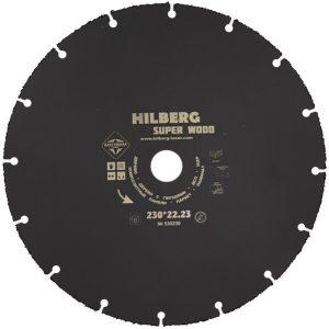 Диск карбид вольфрамовый Hilberg Super Wood 230х22.23