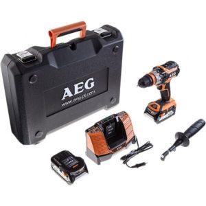 Дрель-шуруповерт AEG Powertools BSB 18 CBL LI-502C (4935459396)