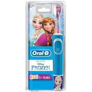 Электрическая зубная щетка Braun Oral-B Kids Frozen D100.413.2K