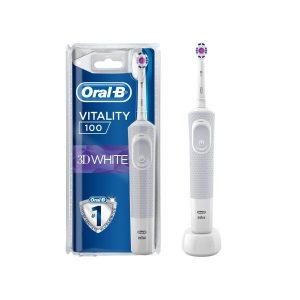 Электрическая зубная щетка BRAUN ORAL-B PRO 3D White D100.413.1 (белый)