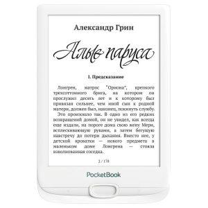 Электронная книга PocketBook 606 (белый)