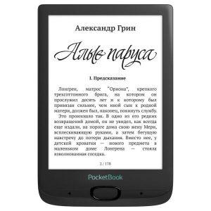 Электронная книга PocketBook 606 (черный)