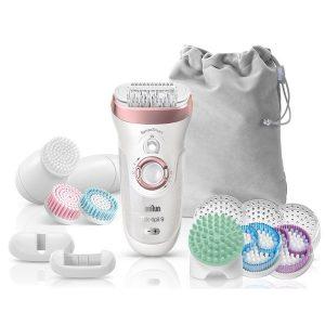 Эпилятор BRAUN Silk-epil 9 SkinSpa SensoSmart 9/970 Wet&Dry