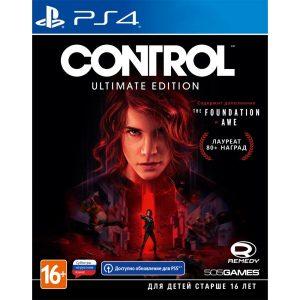 Игра Control: Ultimate Edition для PlayStation 4