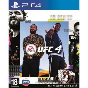 Игра для PlayStation 4 EA SPORTS UFC 4 [русские субтитры]