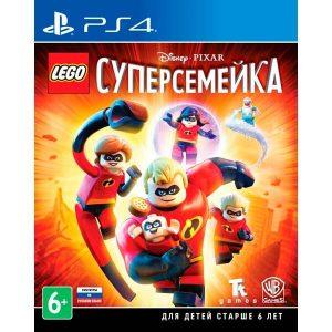 Игра для PS4 LEGO Суперсемейка