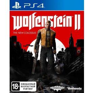 Игра для PS4 Wolfenstein II: The New Colossus (2017)