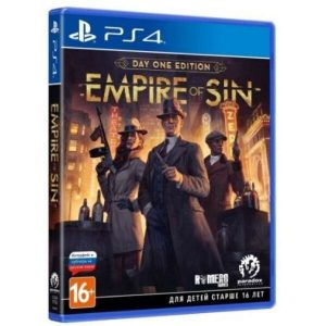 Игра Empire of Sin. Издание первого дня для PlayStation 4